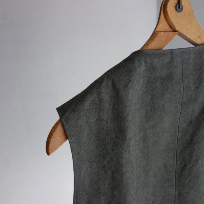 4月の製作 / DA classic vest_e0130546_17012429.jpg