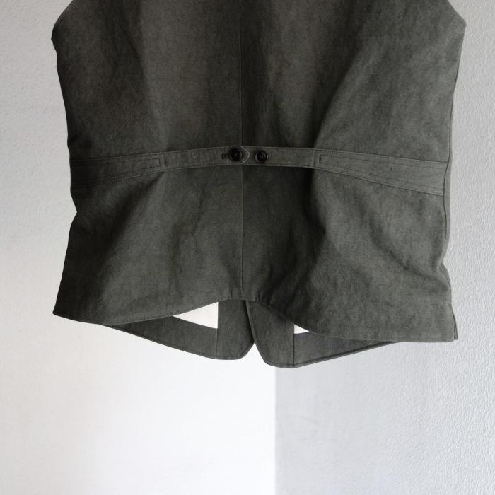 4月の製作 / DA classic vest_e0130546_17014519.jpg