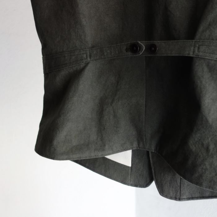 4月の製作 / DA classic vest_e0130546_17021627.jpg