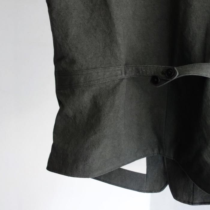 4月の製作 / DA classic vest_e0130546_17023179.jpg