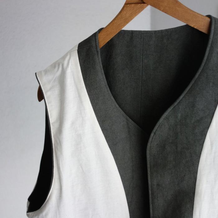 4月の製作 / DA classic vest_e0130546_17025387.jpg