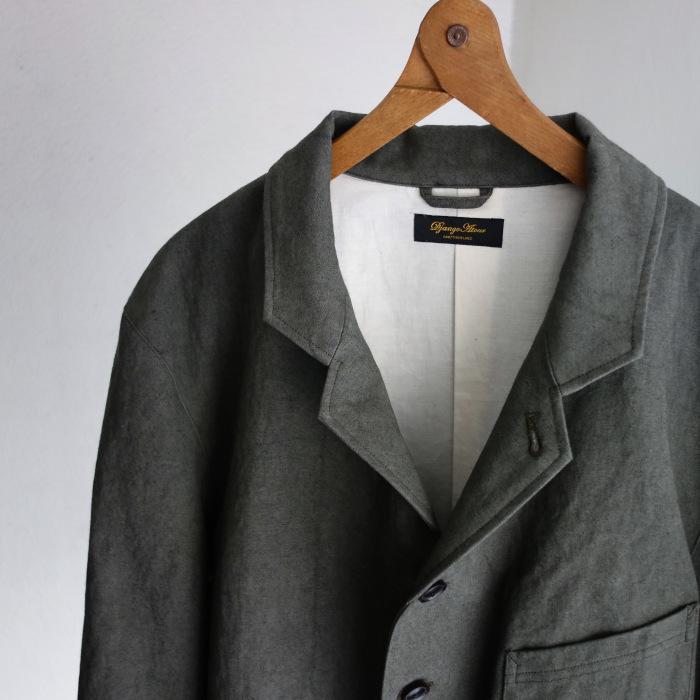 4月の製作 / classic irishworker jacket_e0130546_17131154.jpg
