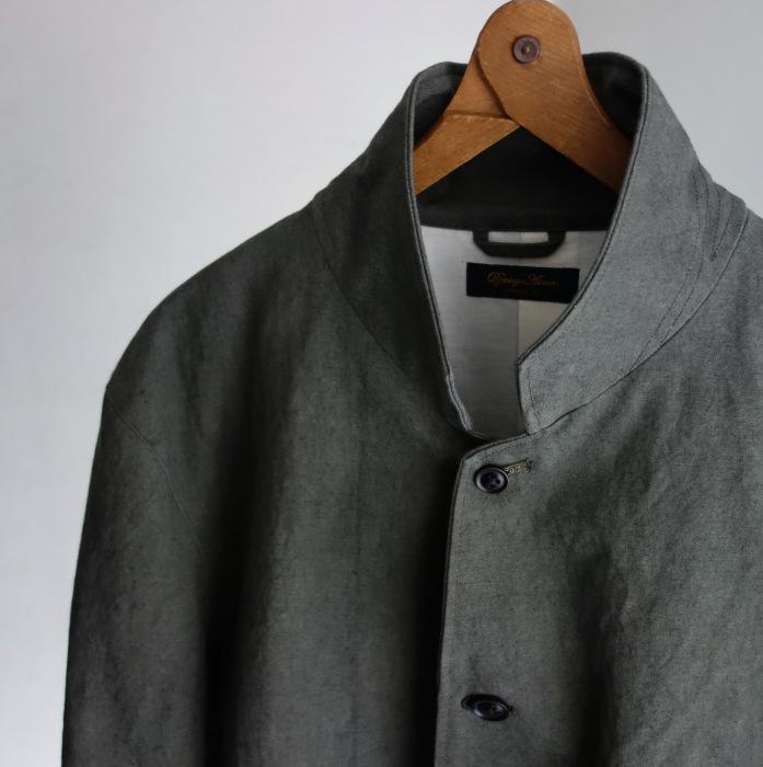 4月の製作 / classic irishworker jacket_e0130546_17141341.jpg