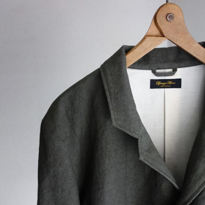 4月の製作 / classic irishworker jacket_e0130546_17155491.jpg