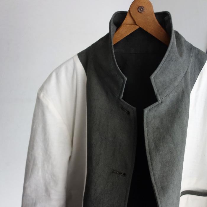 4月の製作 / classic irishworker jacket_e0130546_17191367.jpg