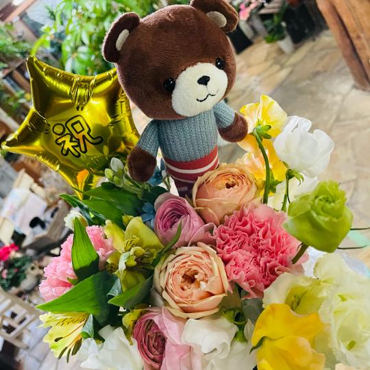 ご卒業のお祝いに…^ ^_e0156650_21580398.jpg