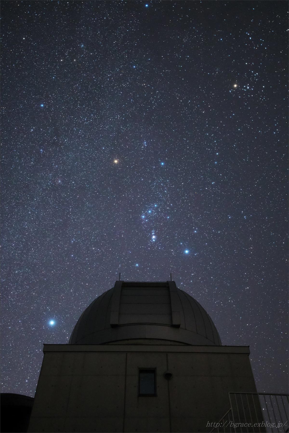 天文ドームとオリオン_b0191074_23174515.jpg