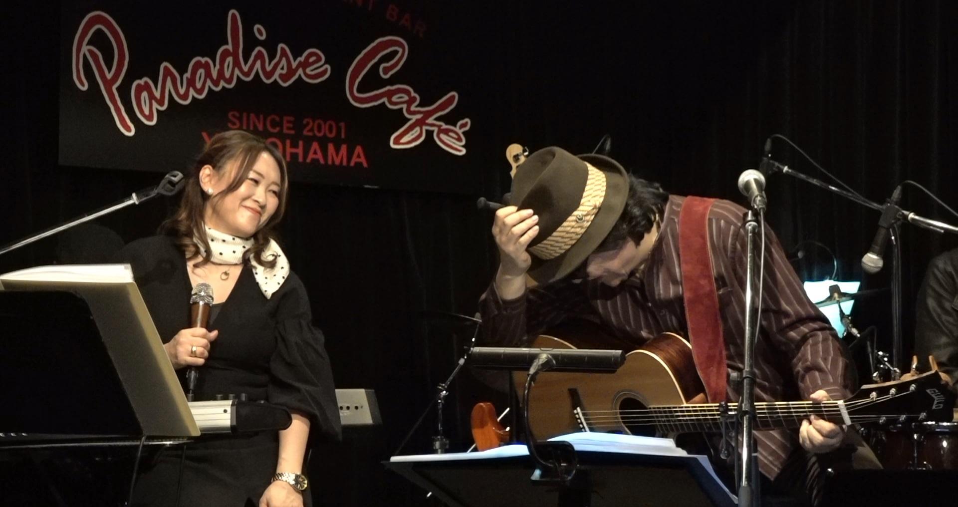 濱田金吾LIVE@横浜ParadiseCafe ありがとうございました!_a0088007_23145897.jpg