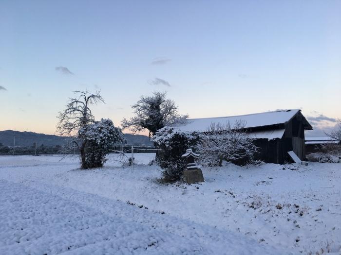 雪は七難隠す_c0106831_08585157.jpg