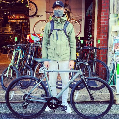 ☆tern ターン 特集☆「 CLUTCH クラッチ 」 クロスバイク 650c おしゃれ自転車 自転車女子 自転車ガール クラッチ ターン rojibikes クレスト AMP F1_b0212032_19351410.jpeg