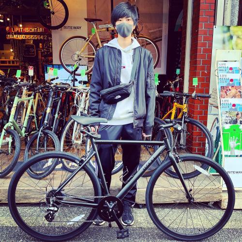 ☆tern ターン 特集☆「 CLUTCH クラッチ 」 クロスバイク 650c おしゃれ自転車 自転車女子 自転車ガール クラッチ ターン rojibikes クレスト AMP F1_b0212032_19383147.jpeg
