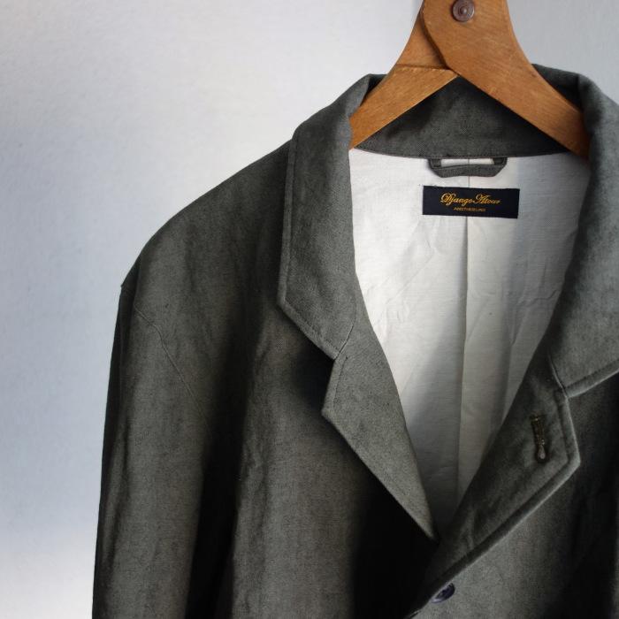 4月の製作 / classic irishworker jacket_e0130546_14120296.jpg