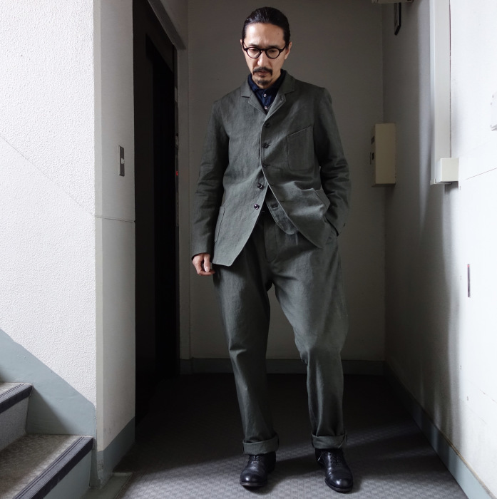 4月の製作 / classic irishworker jacket_e0130546_14155752.jpg