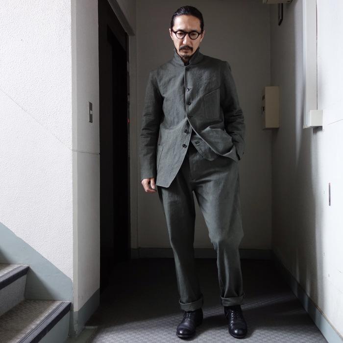 4月の製作 / classic irishworker jacket_e0130546_14162287.jpg