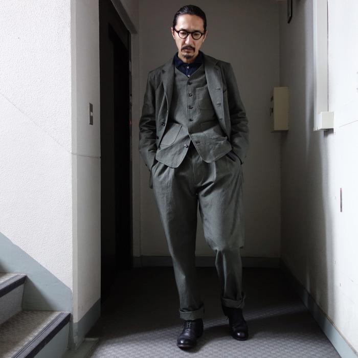 4月の製作 / classic irishworker jacket_e0130546_14163984.jpg