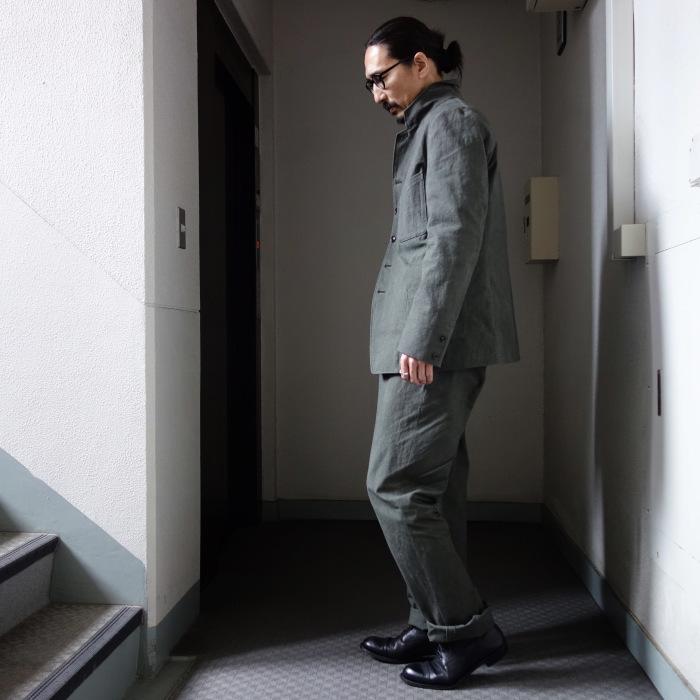 4月の製作 / classic irishworker jacket_e0130546_14171544.jpg