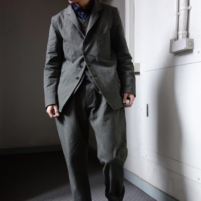 4月の製作 / classic irishworker jacket_e0130546_14180155.jpg
