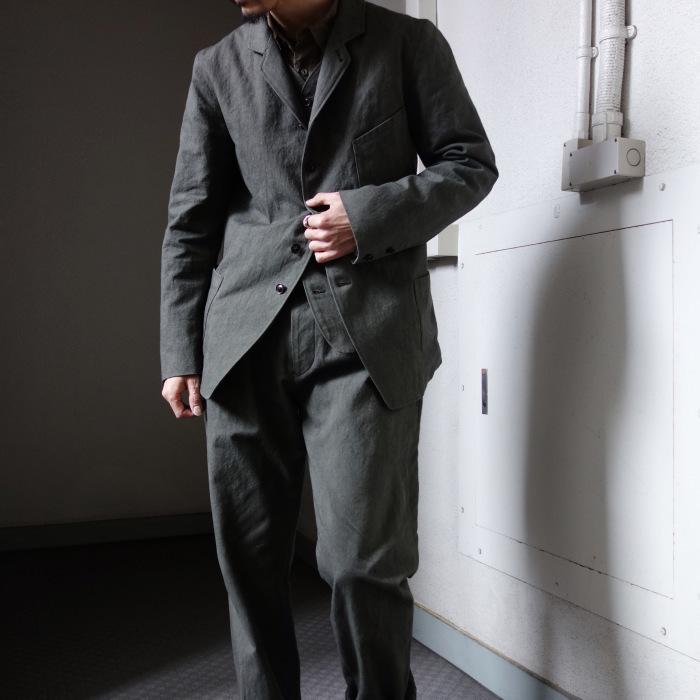 4月の製作 / classic irishworker jacket_e0130546_14181977.jpg