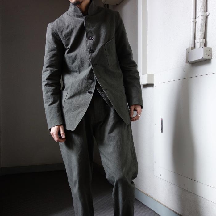 4月の製作 / classic irishworker jacket_e0130546_14183822.jpg