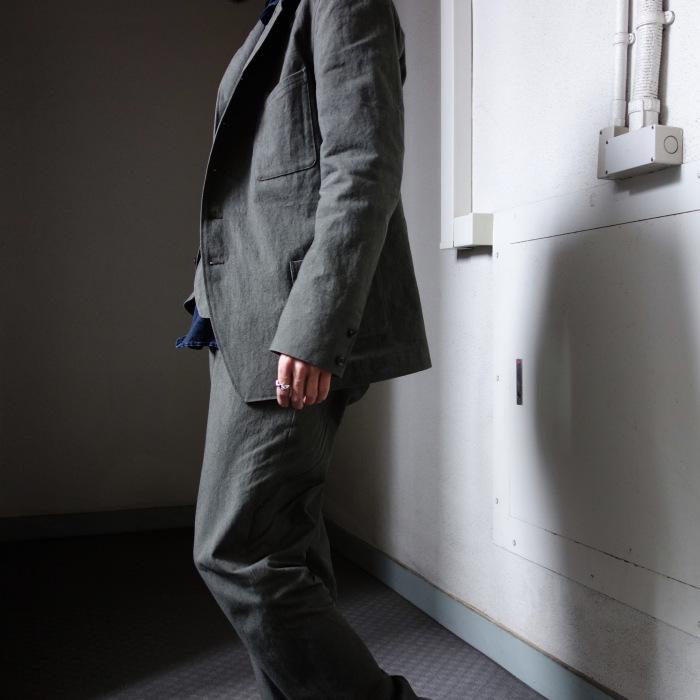 4月の製作 / classic irishworker jacket_e0130546_14185768.jpg