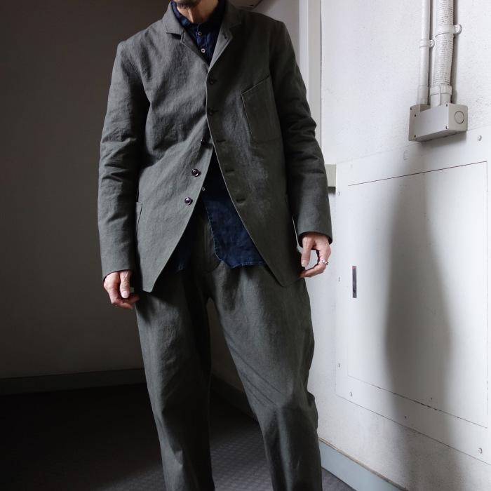 4月の製作 / classic irishworker jacket_e0130546_14195511.jpg