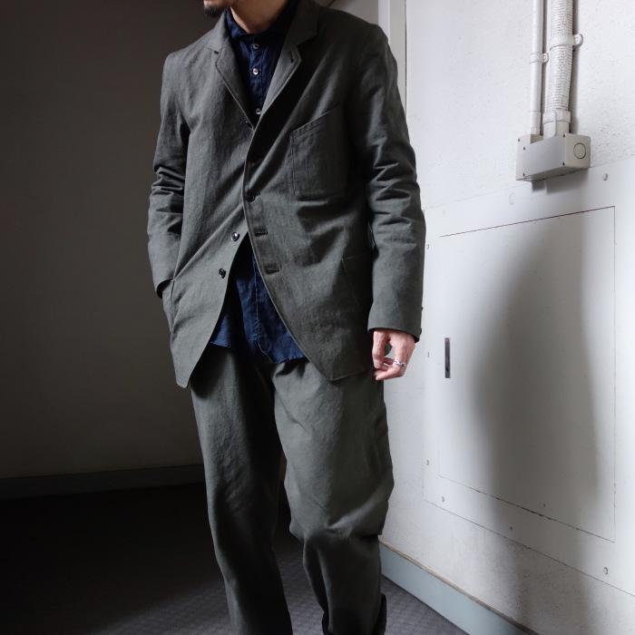 4月の製作 / classic irishworker jacket_e0130546_14201127.jpg