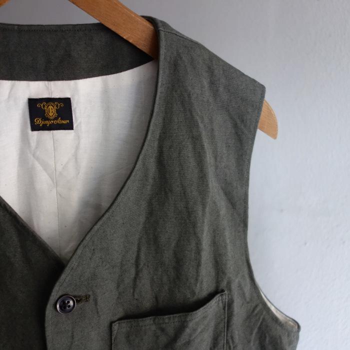 4月の製作 / DA classic vest_e0130546_14265479.jpg