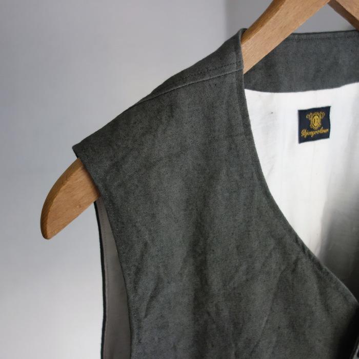 4月の製作 / DA classic vest_e0130546_14271485.jpg