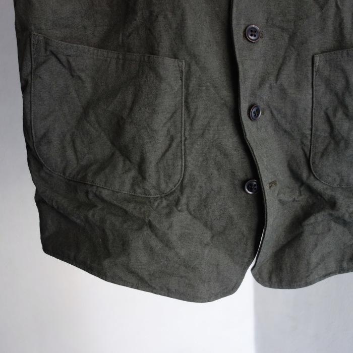 4月の製作 / DA classic vest_e0130546_14275801.jpg