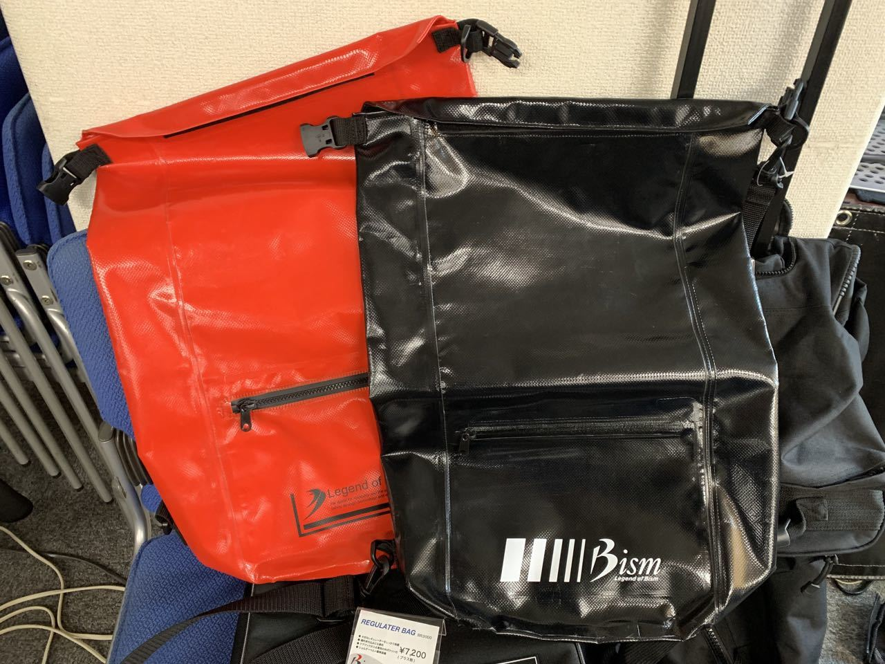 ひさしぶりの大阪 ダイビング器材メーカーの展示会_d0115650_23152357.jpg
