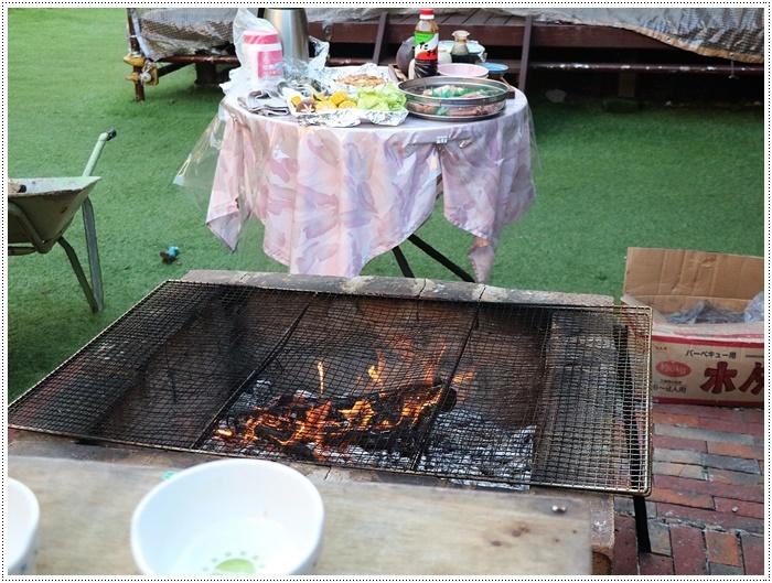 お庭BBQにはちと寒い。。。(*⌒∇⌒*)テヘ♪_b0175688_19371803.jpg