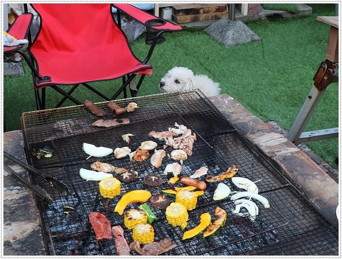 お庭BBQにはちと寒い。。。(*⌒∇⌒*)テヘ♪_b0175688_19373200.jpg