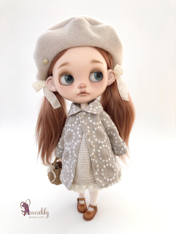 *lucalily * dolls clothes* Spring Coat Set *_d0217189_21462917.jpeg