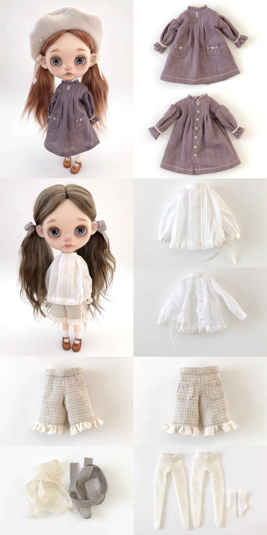 *lucalily * dolls clothes* Spring Coat Set *_d0217189_21464406.jpg