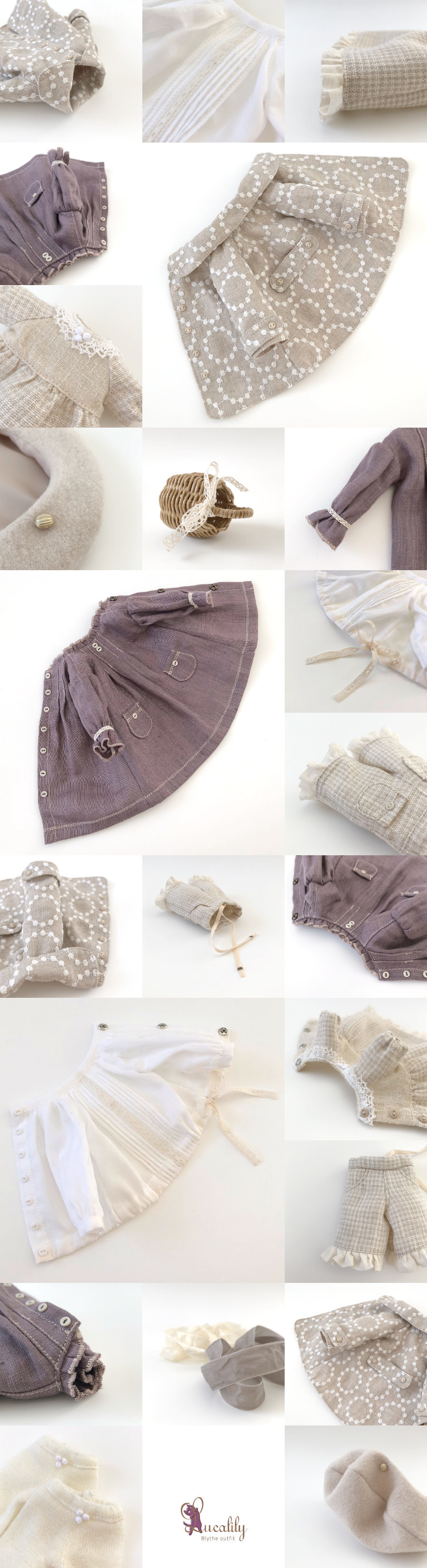 *lucalily * dolls clothes* Spring Coat Set *_d0217189_21471434.jpg
