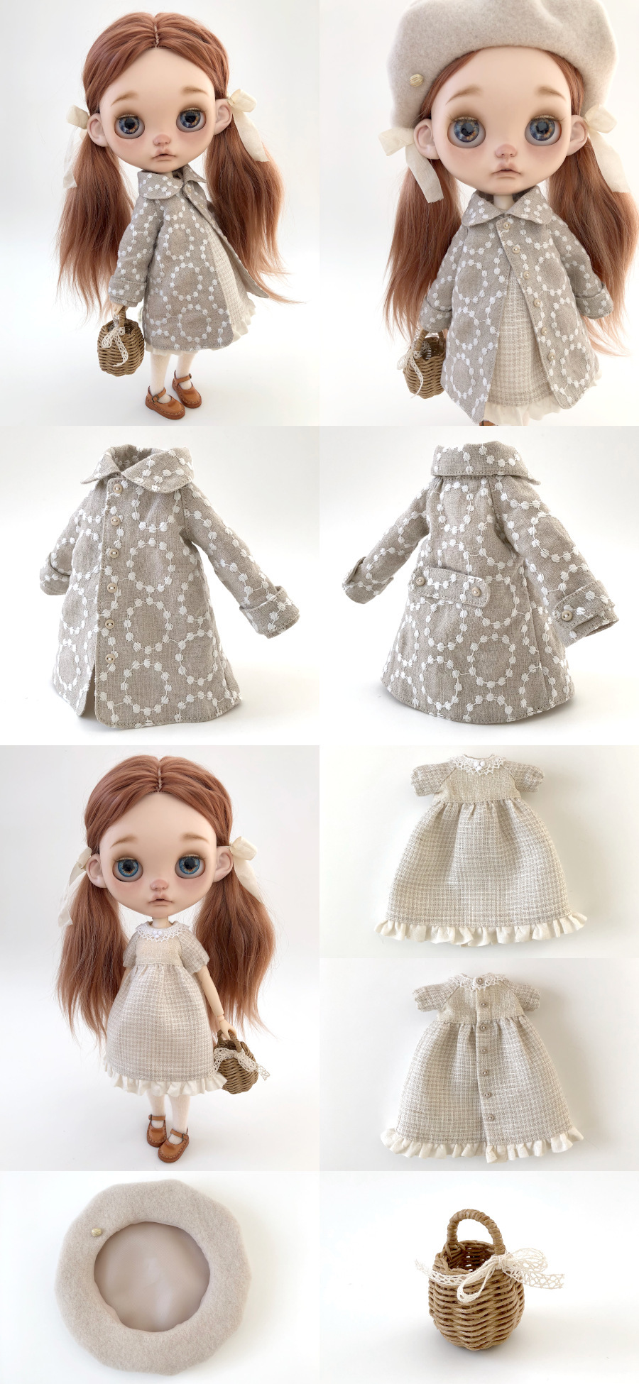 *lucalily * dolls clothes* Spring Coat Set *_d0217189_21581202.jpg