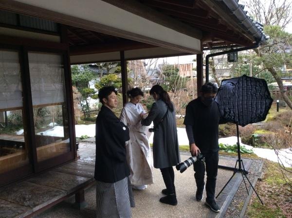 """小松市から""""結婚式の前撮り""""の御客様_f0289632_12540554.jpg"""