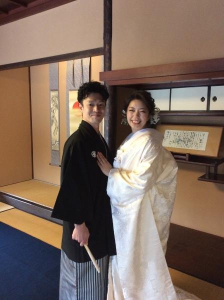 """小松市から""""結婚式の前撮り""""の御客様_f0289632_12542835.jpg"""
