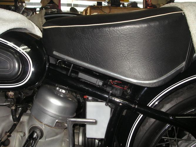 BMW  R50 継続検査とETC取り付け_e0218639_14531954.jpg