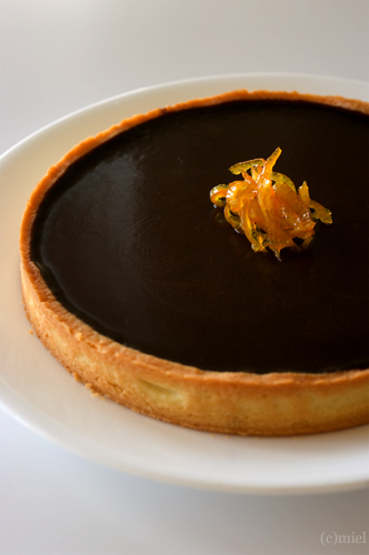 Tarte au chocolat à l\'orange_f0147145_16483015.jpg