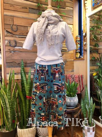アルパカ100% 極細糸 セーターとチュニックがご奉仕価格になりました_d0187468_14053518.jpg
