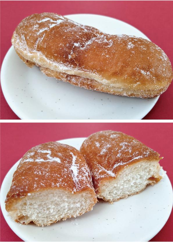 【袋ドーナツ】Pasco「ちいさなあげパン」【給食っぽい】_d0272182_14331429.jpg