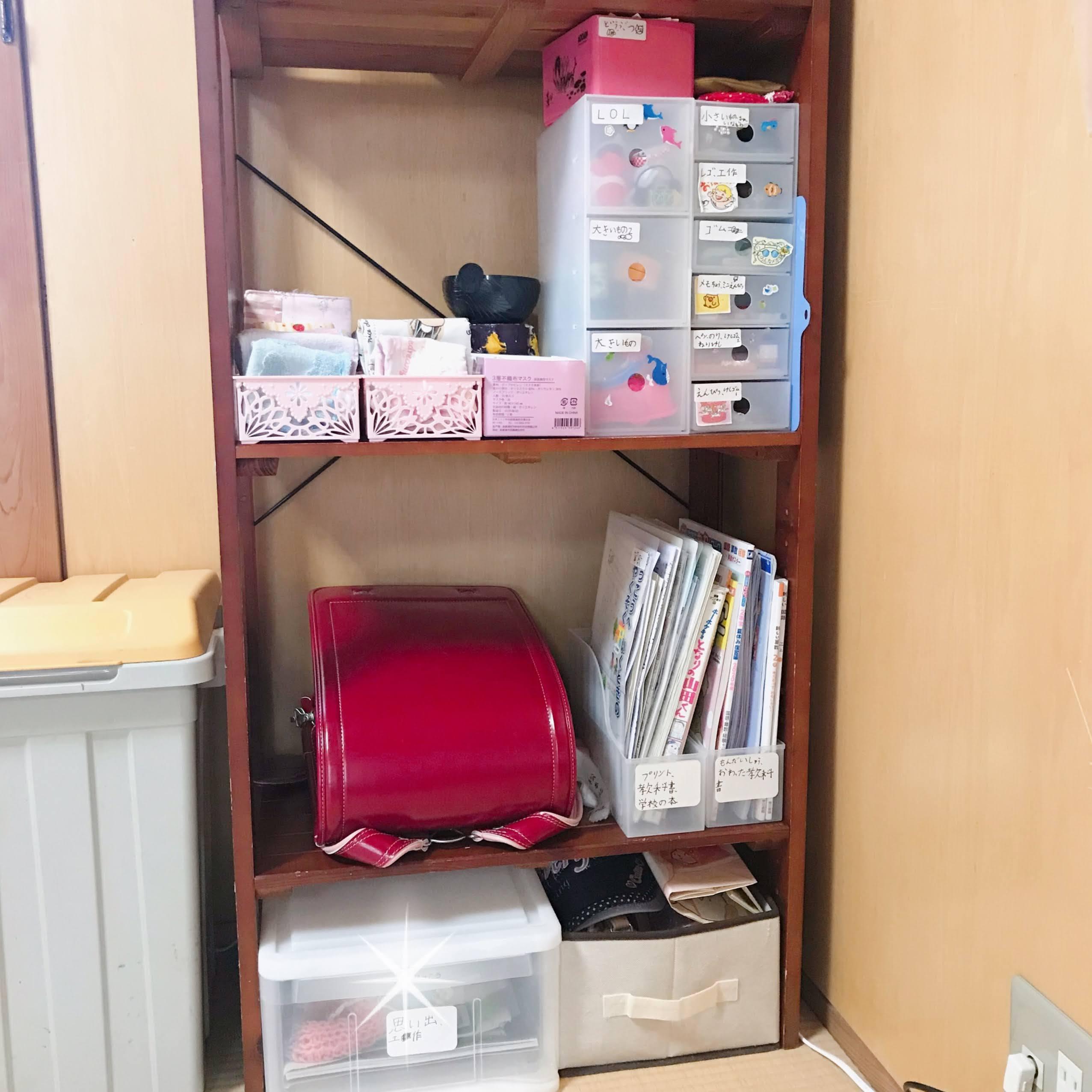 【実作業サービス】小学2年生Yちゃんコーナーが完成!_e0303386_17170513.jpg