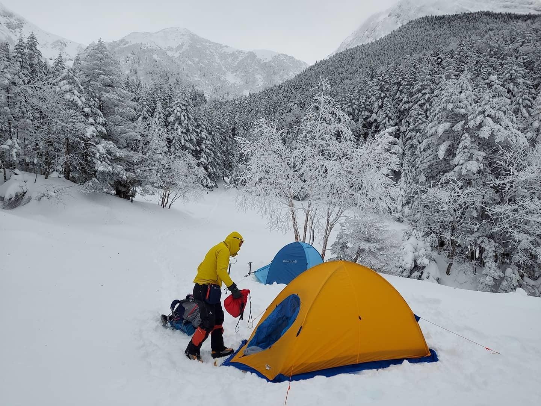 厳冬期八ヶ岳テント泊_e0231387_15033878.jpg