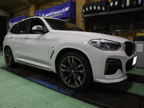 BMW・X3 M40d、ローダウンです。_e0188729_17422278.jpg