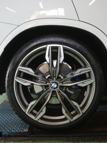 BMW・X3 M40d、ローダウンです。_e0188729_17432774.jpg