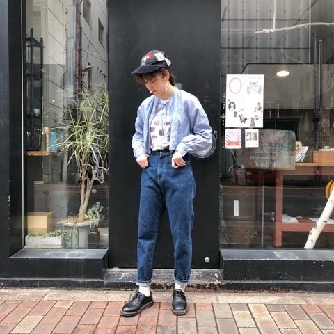 〘fig London〙blossom CHECK short shirt_a0389054_00391983.jpg