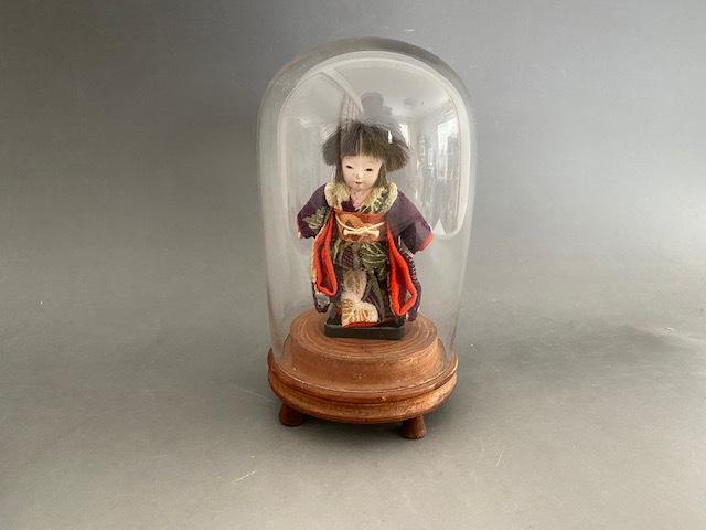 市松人形inガラスドーム_c0405112_13052822.jpg