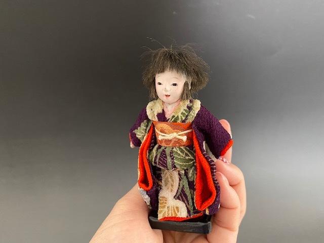 市松人形inガラスドーム_c0405112_13054235.jpg