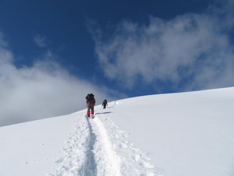 雪原が美しい 大日ケ岳 (1,708.9M)       登頂 編_d0170615_09191329.jpg